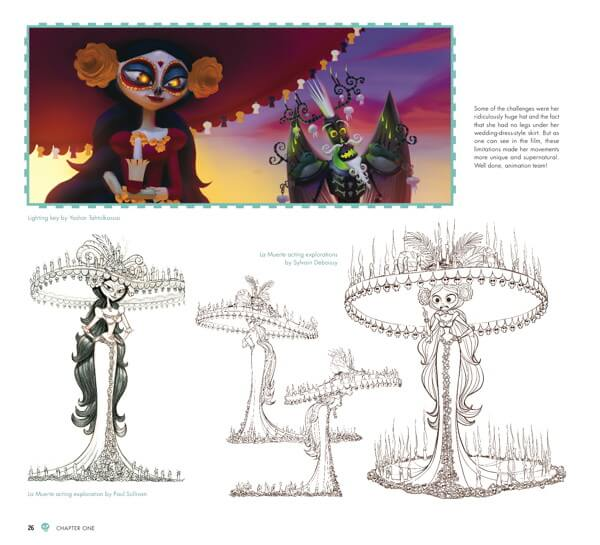 Character Design The Book Of Life : Preview the art of book life pixelated geek