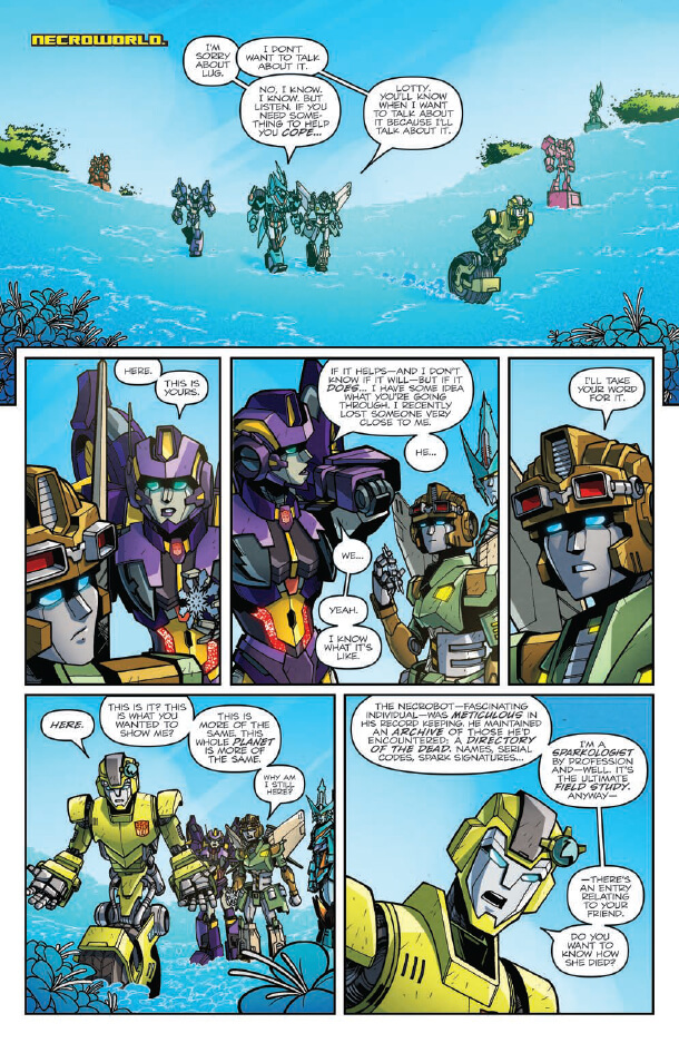 Review – Transformers Lost Light #6 | Pixelated Geek