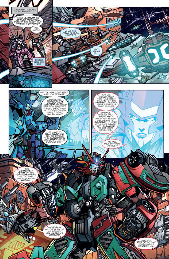 Review – Optimus Prime #22, Unicron #3, and Lost Light #22