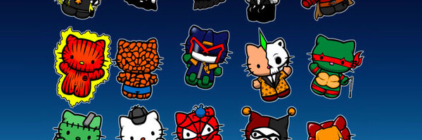 Hello Kitty makes Iron Man, Judge Dredd, and others look cute