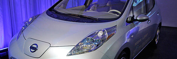 Nissan Leaf – Fun to drive, bad against fire Pokemon