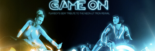 Playboy's Quest to Stay Relevant – Nude TRON Pictorial (NSFW, obviously)