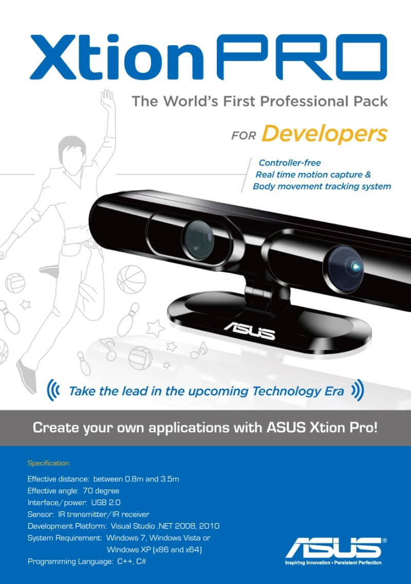 Asus and PrimeSense Bring Kinect Tech to Your Living Room…Again.