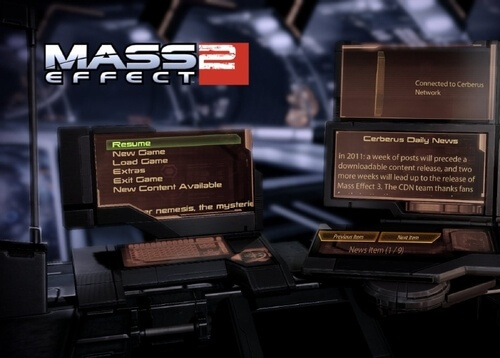 Mass Effect 2's Cerberus Daily News signing off
