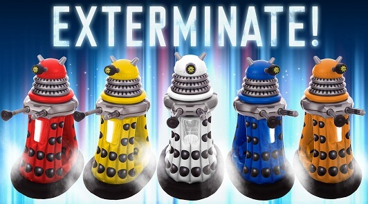 Inflatable daleks? WHY?!