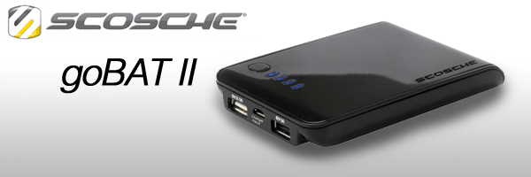 Geek on the Go? Scosche Introduces the goBAT II