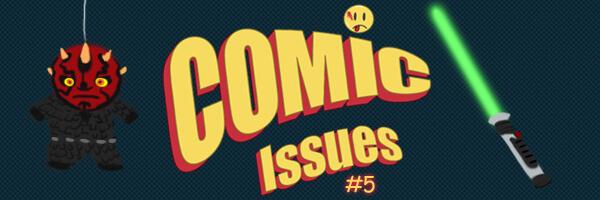 Comic Issues #5 Qui Gon Darran