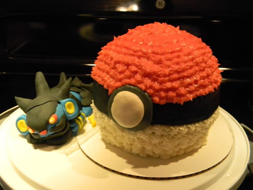 Bull City Birthday Cake