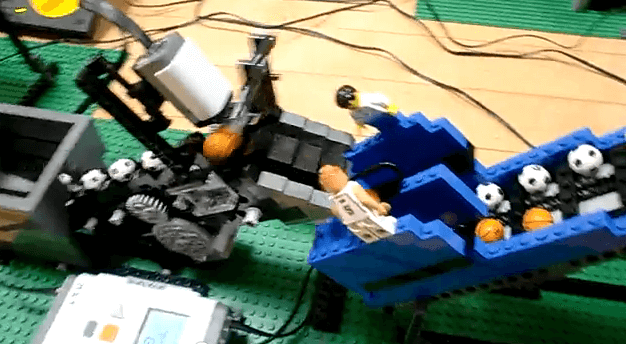 LEGO Rube Goldberg machine that'll put your jaw on the floor