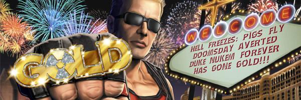Duke Nukem Forever Goes Gold!