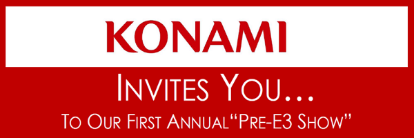 [E3 2011] Konami Pre-E3 Event Coverage Part I: The Press Conference