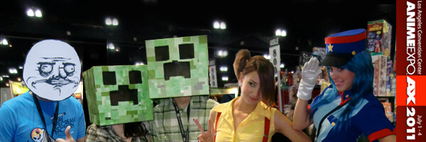 Anime Expo 2011 – Cosplay Gallery