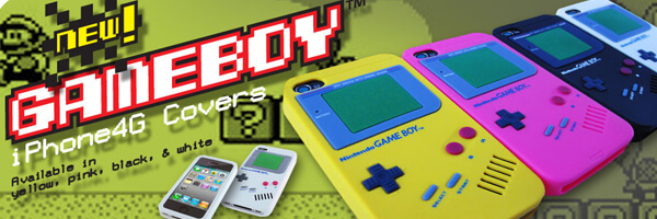 GameBoy iPhone 4 case brings back some of your childhood