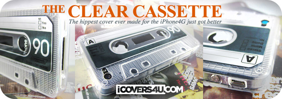 iCovers4u – Tape Deck Case Version 2 for the iPhone 4