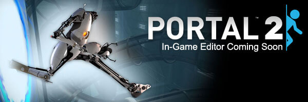 Portal 2 DLC to Feature In-Game Editor