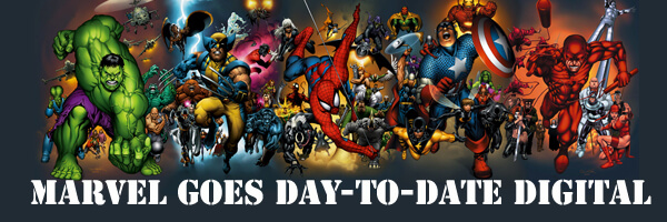 Marvel move forward in day-to-date digital plan