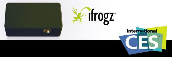 [CES 2012] iFrogz Showcases Boost Near-Field Audio Amplifying Speaker
