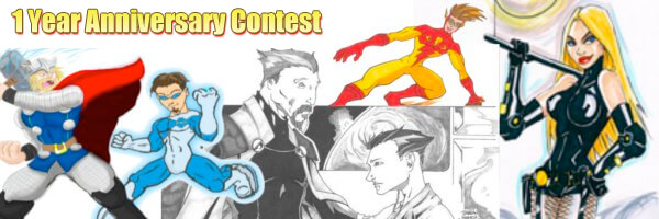 Comic Issues 1 Year Anniversary Contest!