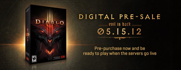 Official Launch Date for Diablo III Announced!