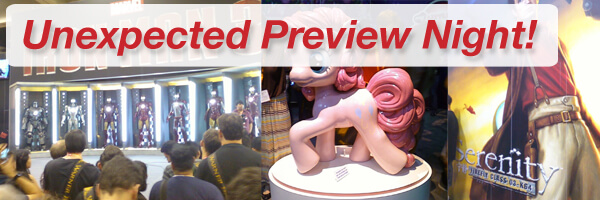 San Diego Comic-Con: Yay for Unexpected Preview Nights!