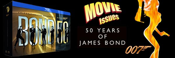 Movie Issues: James Bond 50th Anniversary