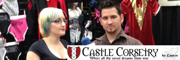 Meet the Mistress of Seams from Castle Corsetry