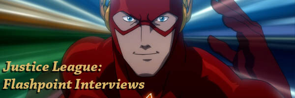Justice League: Flashpoint Paradox – Interviews