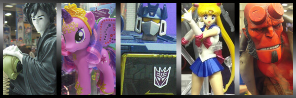 A quick look at the toys of Comic-Con 2013