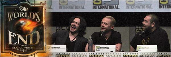[SDCC 2013] The World's End at Hall H