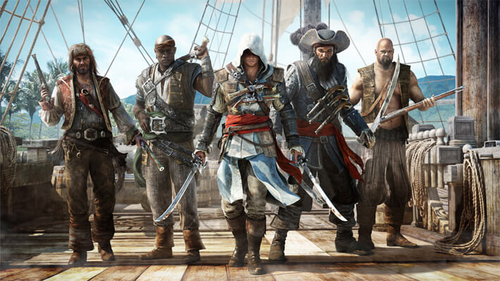 "Assassin's Creed 4 ""Pirate Heist"" Trailer"