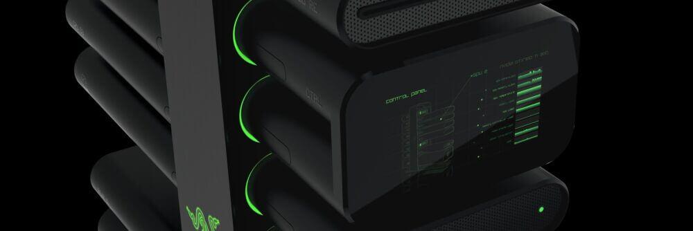 Razer premieres high-concept modular computer at CES 2014