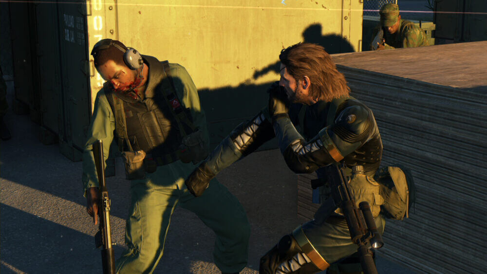 Metal Gear Solid Ground Zeroes Screenshots And Concept Art