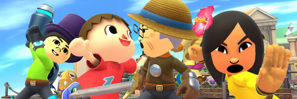 [E3 2014] Smash Brothers Wii U : Hands-On