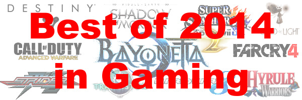 Jordan's Top 10 Games of 2014
