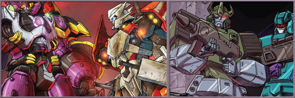 Preview – Transformers Drift: Empire of Stone #3