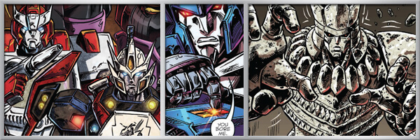 Preview – Transformers Drift: Empire of Stone #4