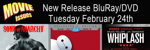 Movie Issues New Release Tuesday February 24th
