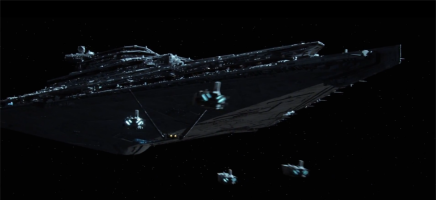 That, ladies and gentlemen, is a Star Destroyer.