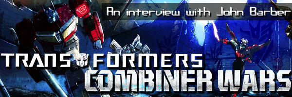 An interview with John Barber on IDW's Transformers