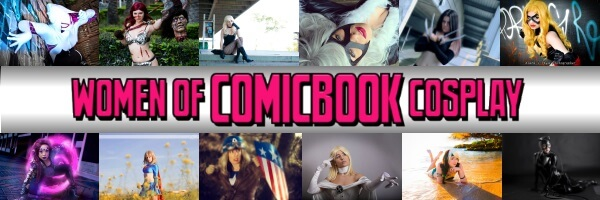 Vote for Women of Comicbook Cosplay's Calender Cover Girl