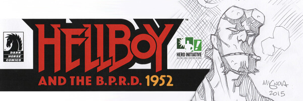 Hero Initiative and Dark Horse Comics Unveil 'The HELLBOY 100'