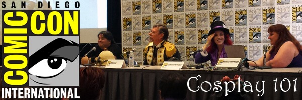 SDCC 2015 – Cosplay 101 Panel