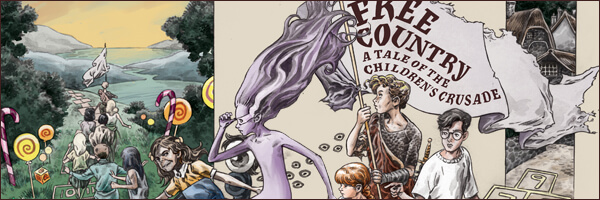 Review – Neil Gaiman's Free Country: A Tale of the Children's Crusade