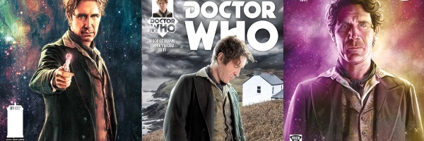 8 Covers for Doctor Who: The Eighth Doctor #1