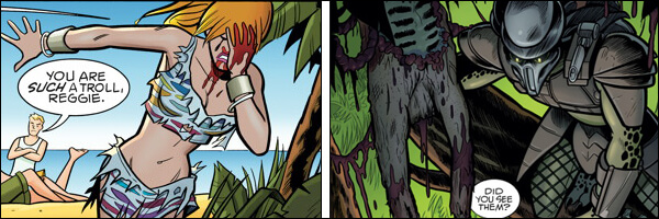 PREVIEW: Archie vs. Predator Hardcover