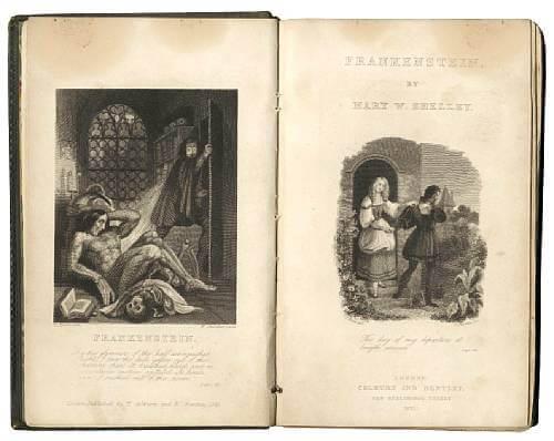 Image result for frankenstein first edition