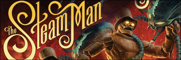 Review – The Steam Man #1