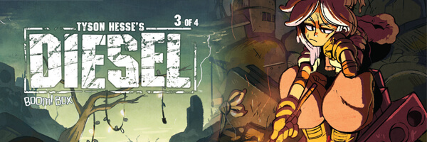 Review: Tyson Hesse's Diesel #3