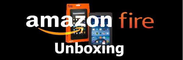 Amazon Fire Tablet Unboxing
