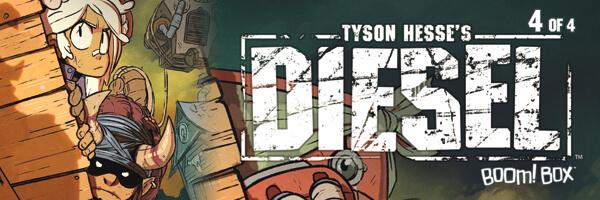 Review: Tyson Hesse's Diesel #4